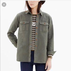 Madewell | Field Bound Cargo Shirt Jacket